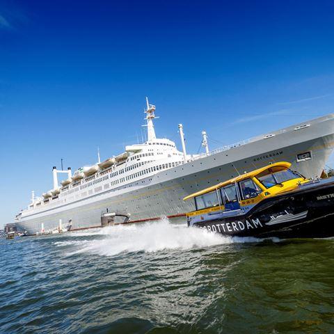 Rondleiding op het ss Rotterdam