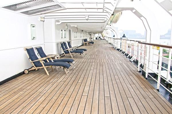 Dek SS Rotterdam