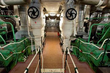 Machinekamer schip