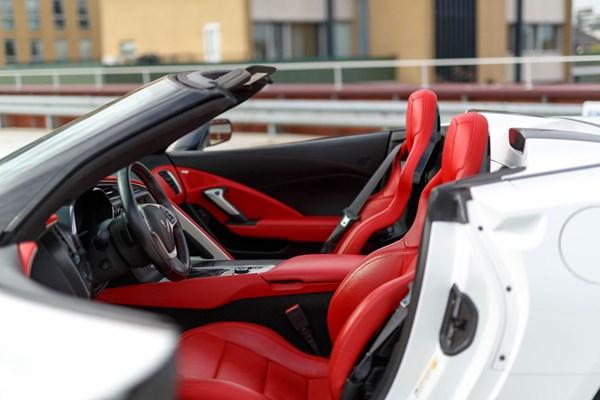 Interieur Chevrolet Corvette C7