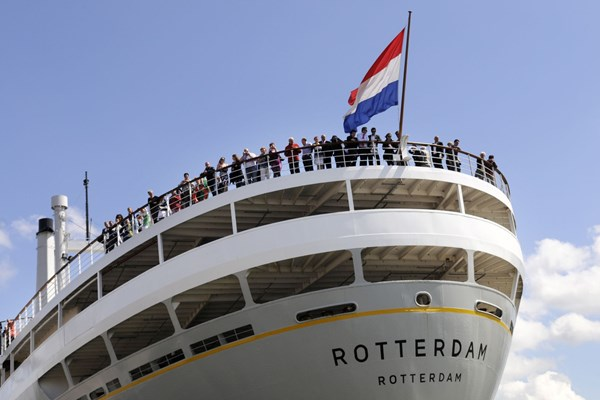 Voorkant ss Rotterdam