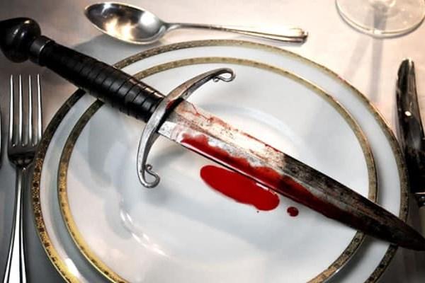 Moordspel tijdens diner
