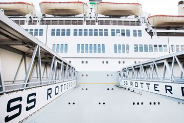 Entree ss Rotterdam
