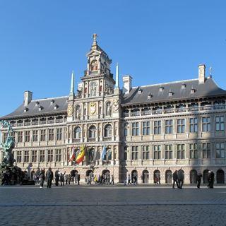 Antwerpen historisch gebouw