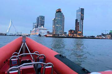 Uitzicht RIB boat