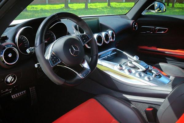 Interieur Mercedes AMG GT