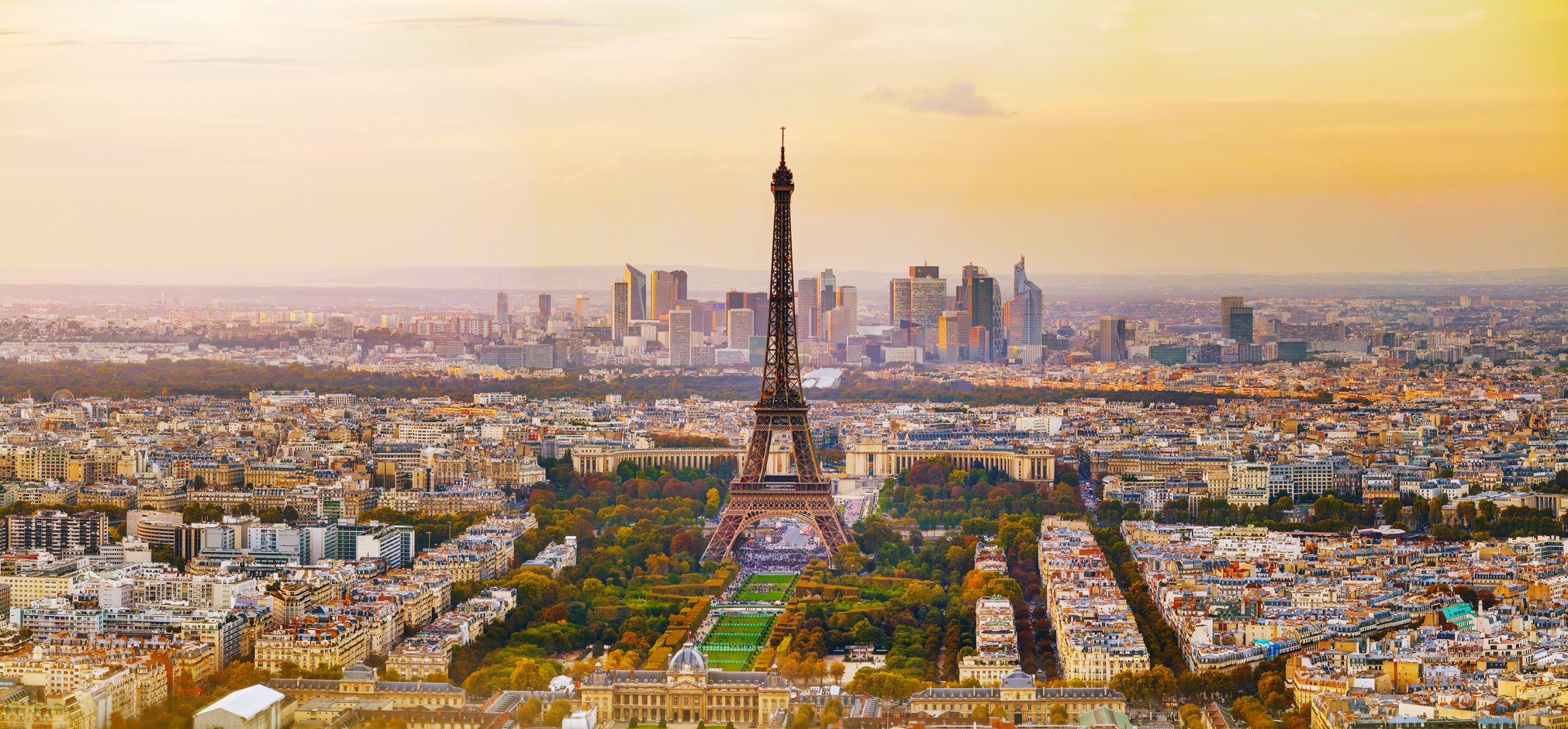 Parijs uitzicht Eiffeltoren