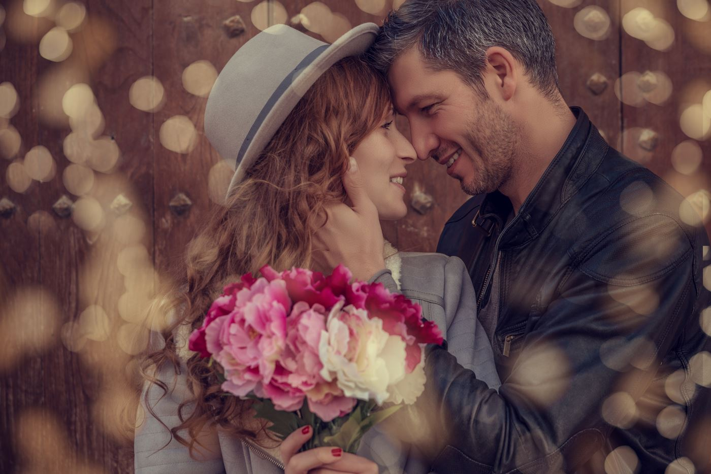 Romantische verrassing vriendin