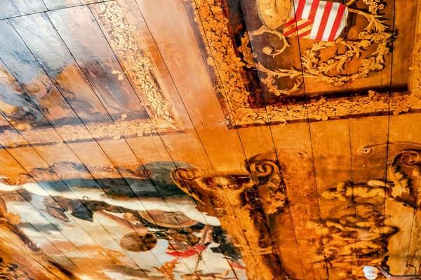 Plafondschildering Rembrandt