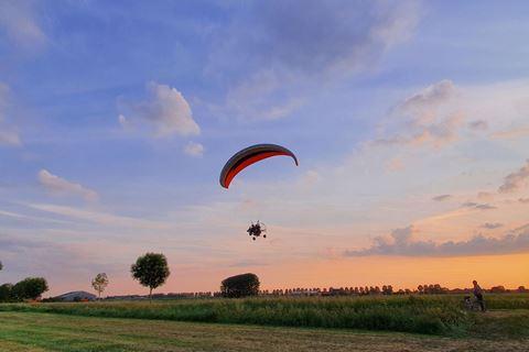 vliegen met paramotor