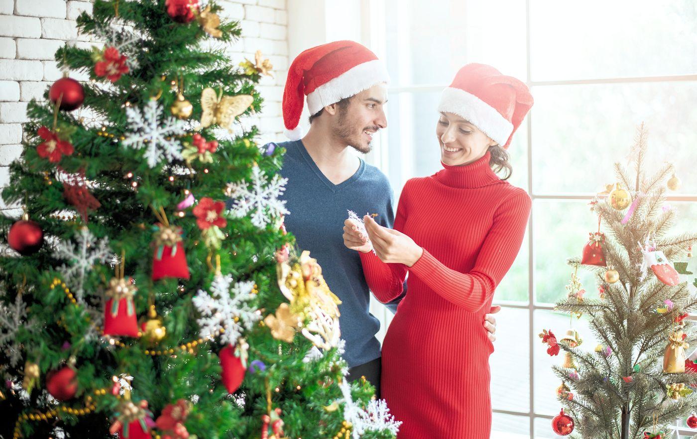 Romantische Kerst thuis