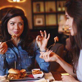 Diner met vriendin