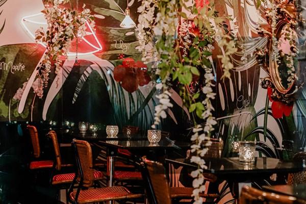 Inrichting restaurant
