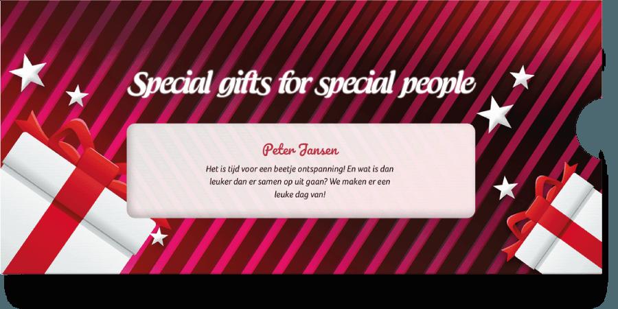 Kerst Actie Cadeau